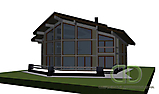 Project of Wooden House 450_2