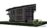 Project of Wooden House 450_3