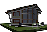 Project of Wooden House 450_4