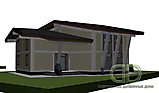 Project of Wooden House 450_5