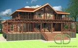 Project of Wooden House 537