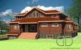 Project of Wooden House 537_2