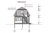 Project of Wooden House 50 cut-1