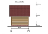 Project of Wooden House 50 facade 3
