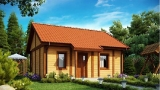 Project of Wooden House 56 Sketch 2