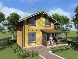 Project of Wooden House 57