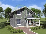 Project of Wooden House 57_6