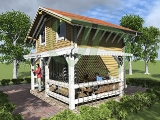 Project of Wooden House 57_7