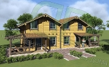 Project of Wooden House 57 dual_1