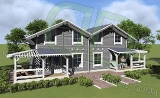 Project of Wooden House 57 dual_4