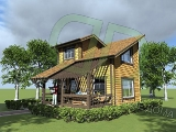 Project of Wooden House 58