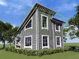 Project of Wooden House 58_4