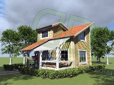 Project of Wooden House 58_5