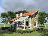 Project of Wooden House 58_6