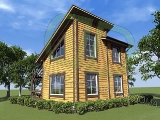 Project of Wooden House 58_7