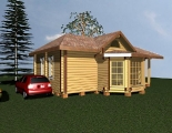 Project of Wooden House 66