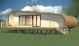 Project of Wooden House 67.1_1
