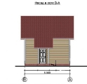 Project of Wooden House 73 facade 1