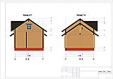Project of Wooden House 75_2