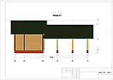 Project of Wooden House 75_3