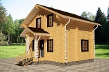 Project of Wooden House 77_2