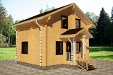 Project of Wooden House 77