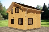 Project of Wooden House 77_6