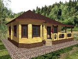 Project of Wooden House 83_1