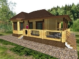 Project of Wooden House 83_2