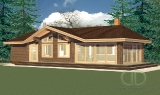 Project of Wooden House 86