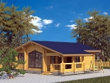 Project of Wooden House 87