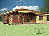 Project of Wooden House 88