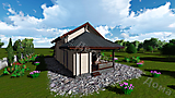 Project of Wooden House 90_6