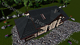 Project of Wooden House 90_8