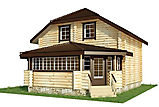 Project of Wooden House 95-2_1