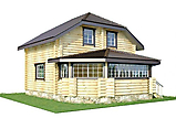 Project of Wooden House 95-2_2