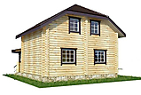 Project of Wooden House 95-2_3