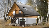 Project of Wooden House 97_4