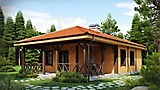 Project of Wooden House 99_3