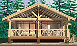 Project of Wooden House 118_2