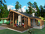 Project of Wooden House 154_2