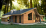 Project of Wooden House 154_4