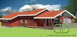 Project of Wooden House 136_1