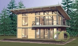 Project of Wooden House 134_1