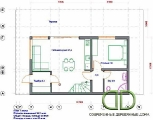 Project of Wooden House 134_3