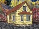 Project of Wooden House 100-2_1