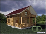 Project of Wooden House 103