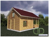 Project of Wooden House 103_2