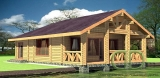 Project of Wooden House 104-2