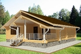 Project of Wooden House 104